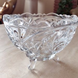Other - Crystal Bowl Candy Dish